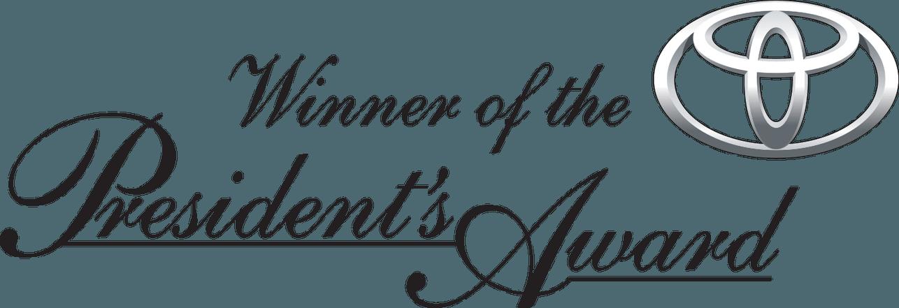 Toyota Materials Handling USA Southeast Industrial Equipment President's Award