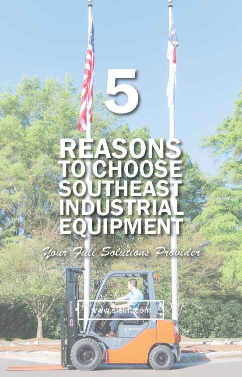 Choose Southeast Industrial Equipment