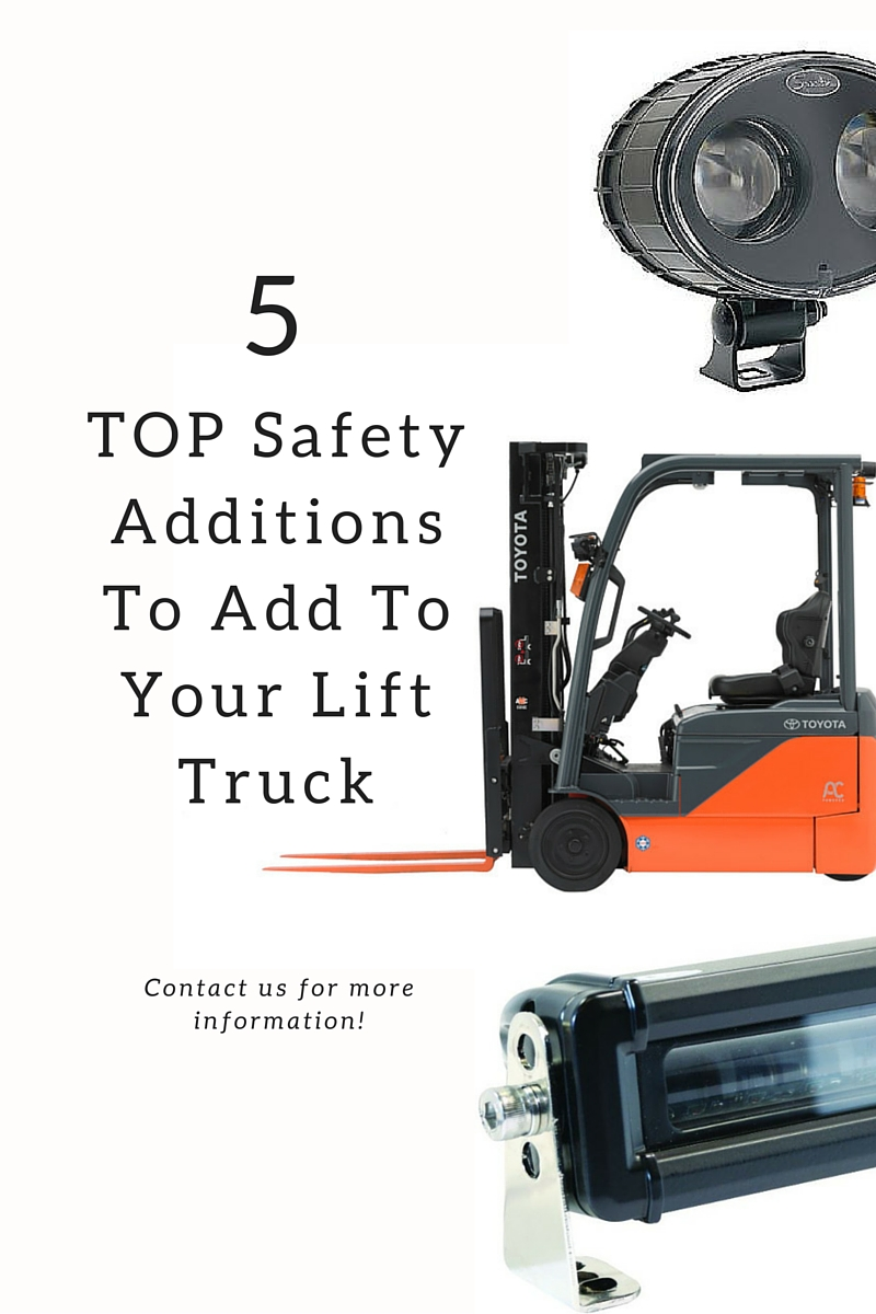 Safety Additions to Forklift