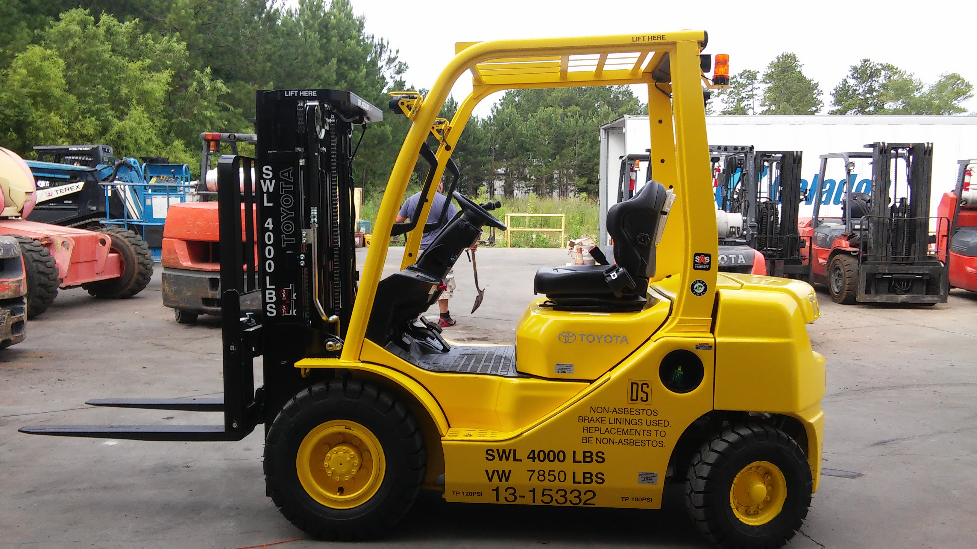 Forklift for Troops