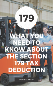 BLOG GRAPHIC - What You Need to Know About the Section 179 Tax Deduction