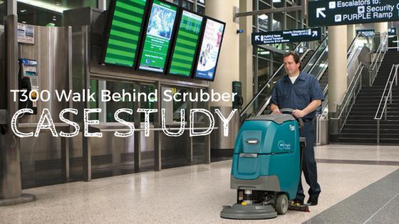 Tennant T300 Walk Behind Scrubber Case Study