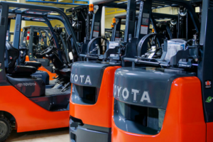 Toyota Forklift In Stock in New Equipment Inventory at Southeast Industrial Equipment