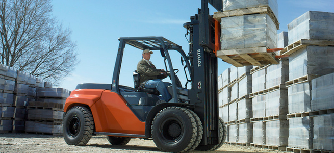 Toyota Forklifts offered by Southeast Industrial Equipment