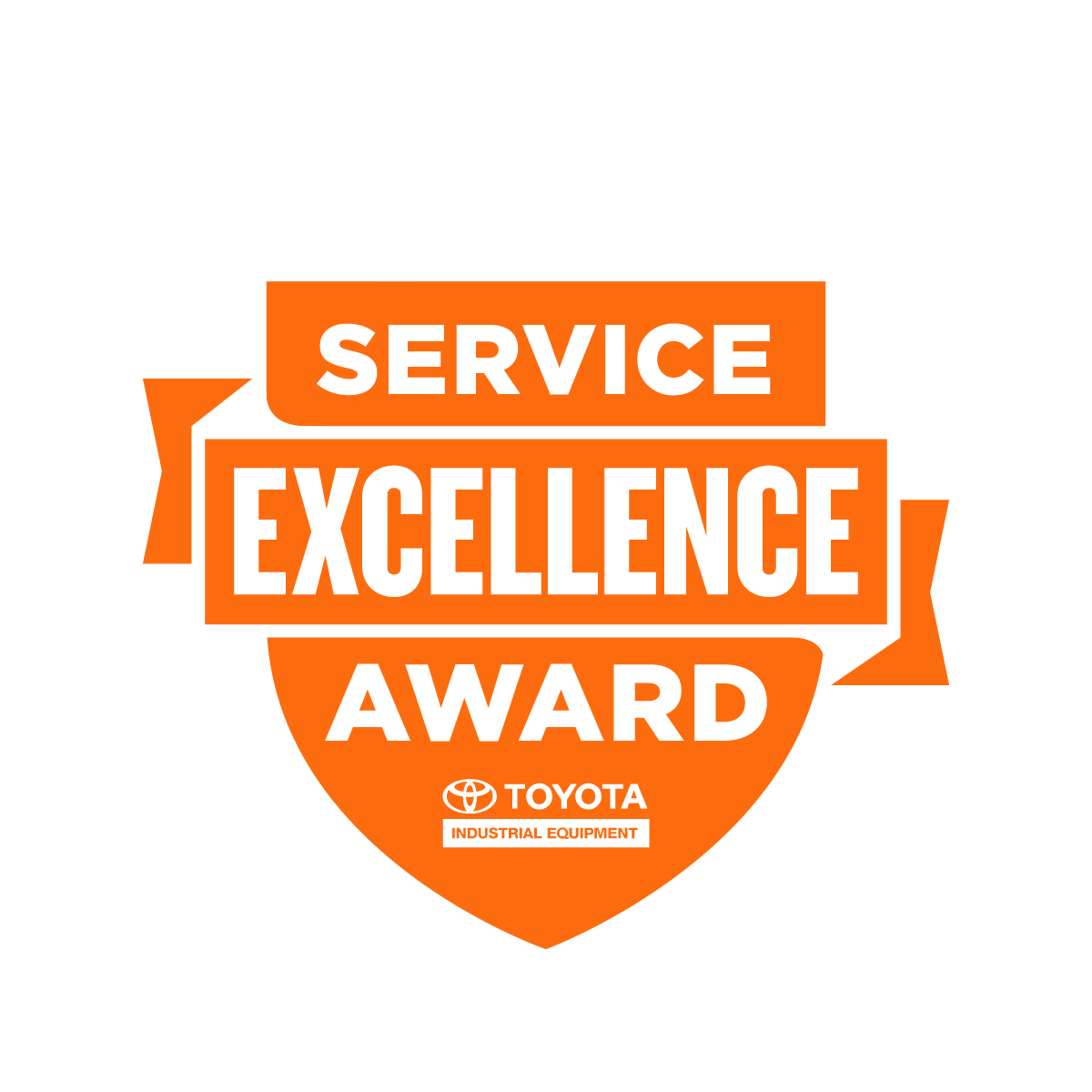 Toyota Forklift Service Excellence Award