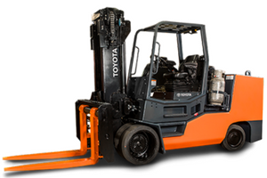 Toyota High Capacity Large IC Cushion Forklift