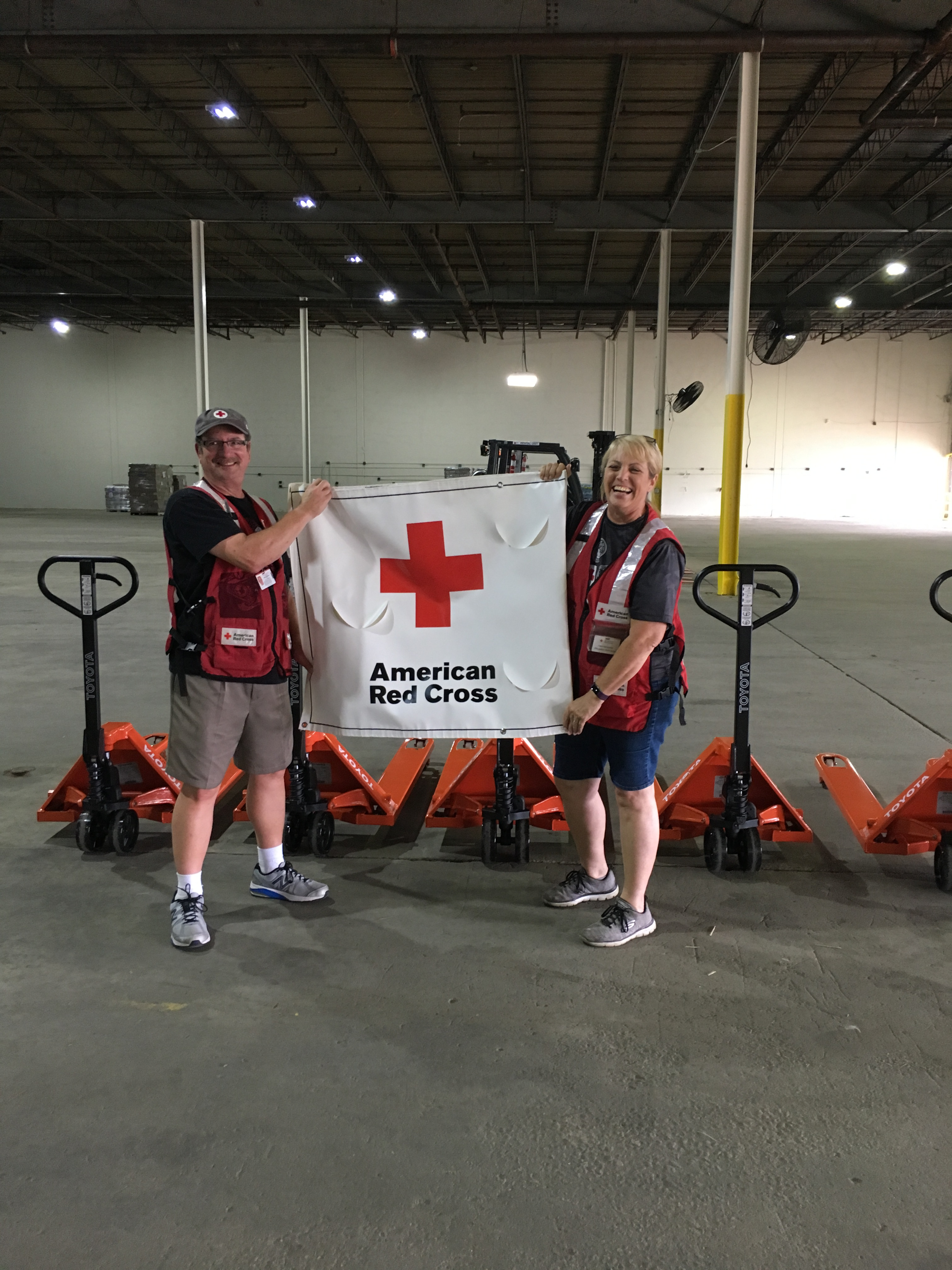 American Red Cross Donation from SIE