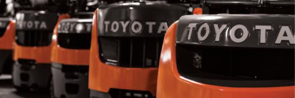 Toyota Forklift Rentals