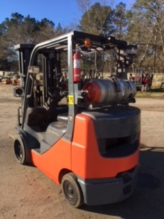 Used 2013 Toyota IC CUSHION FORKLIFT 8FGCU25 in Raleigh, NC - 1