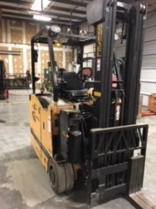 Used 2014 Drexel VERY NARROW AISLE FORKLIFT SLT30AC in Raleigh, NC - 1