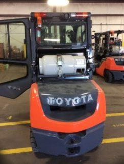 Savannah Street Sweeper Christmas 2020 New 2019 Toyota Ic Pneumatic Forklift 8FGU30 in Savannah, GA