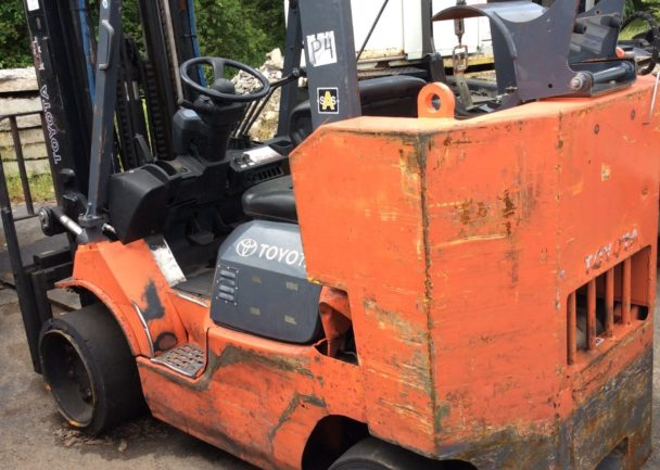 Used 2010 Toyota IC CUSHION FORKLIFT - BOXCAR SPECIAL 7FGCU45 BCS in Duncan, SC - 1