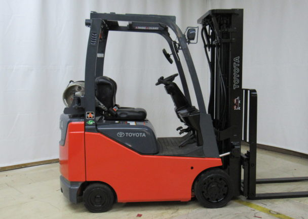 Used 2014 Toyota IC CUSHION FORKLIFT 8FGCU30 in Duncan, SC - 1